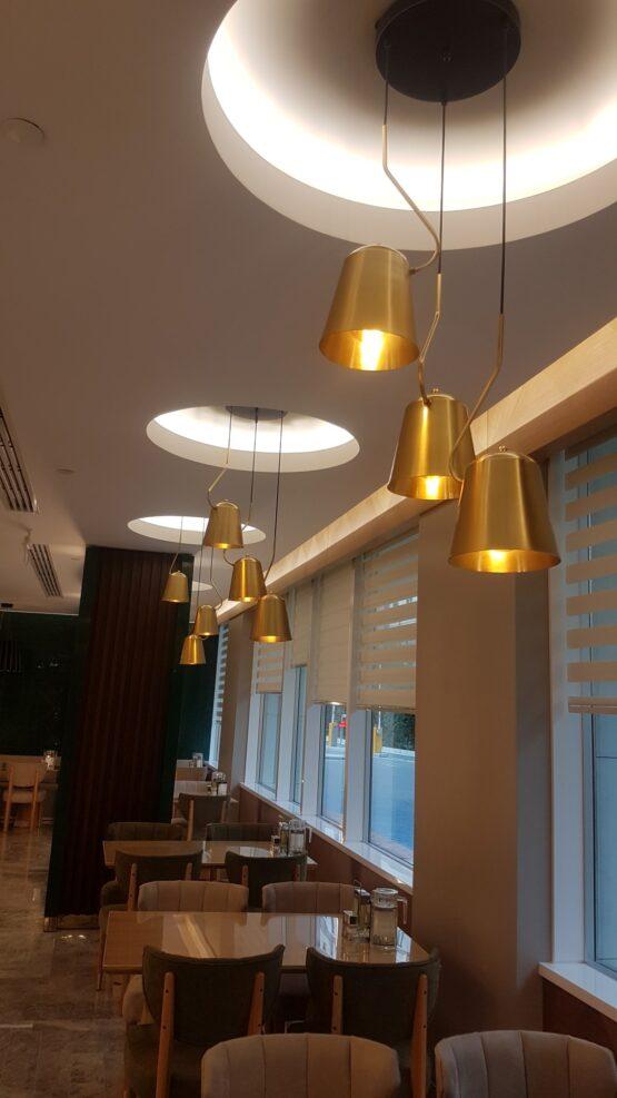 Emsey Hastanesi Restoran Aydınlatma Projesi